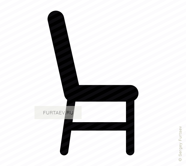 Chair icon vector free download : chair from furtaev.ru size 620 x 553 png 29kB