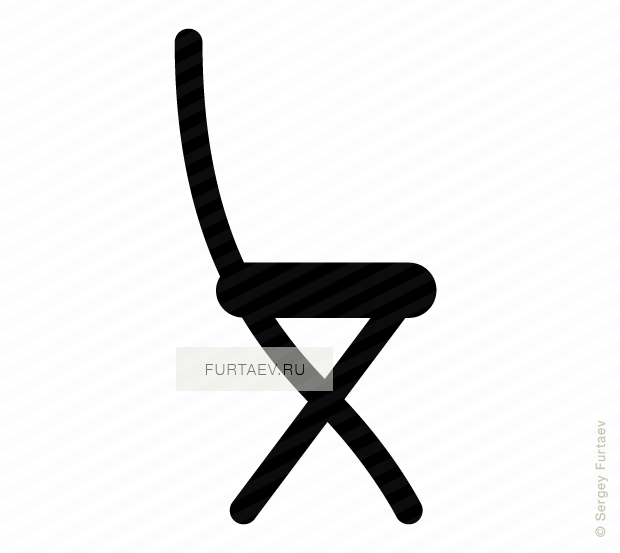 Chair vector icon : chair2 from furtaev.ru size 620 x 553 png 32kB