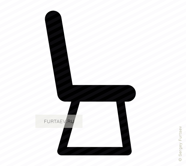 Chair icon vector free download : chair8 from furtaev.ru size 620 x 553 png 31kB