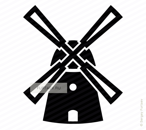 windmill vector icon rh furtaev ru windmill vector art windmill vector illustration