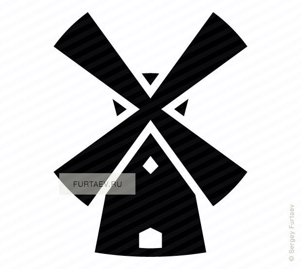 Royalty Free Icons: furtaev.ru/windmill_2